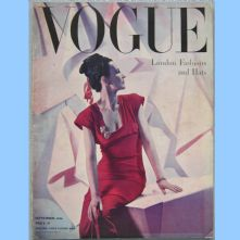 Vogue Magazine - 1946 - September